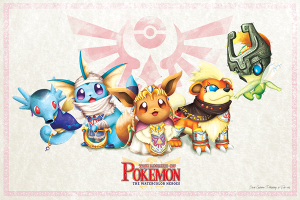Legend of Pokemon Princess Fille Geek