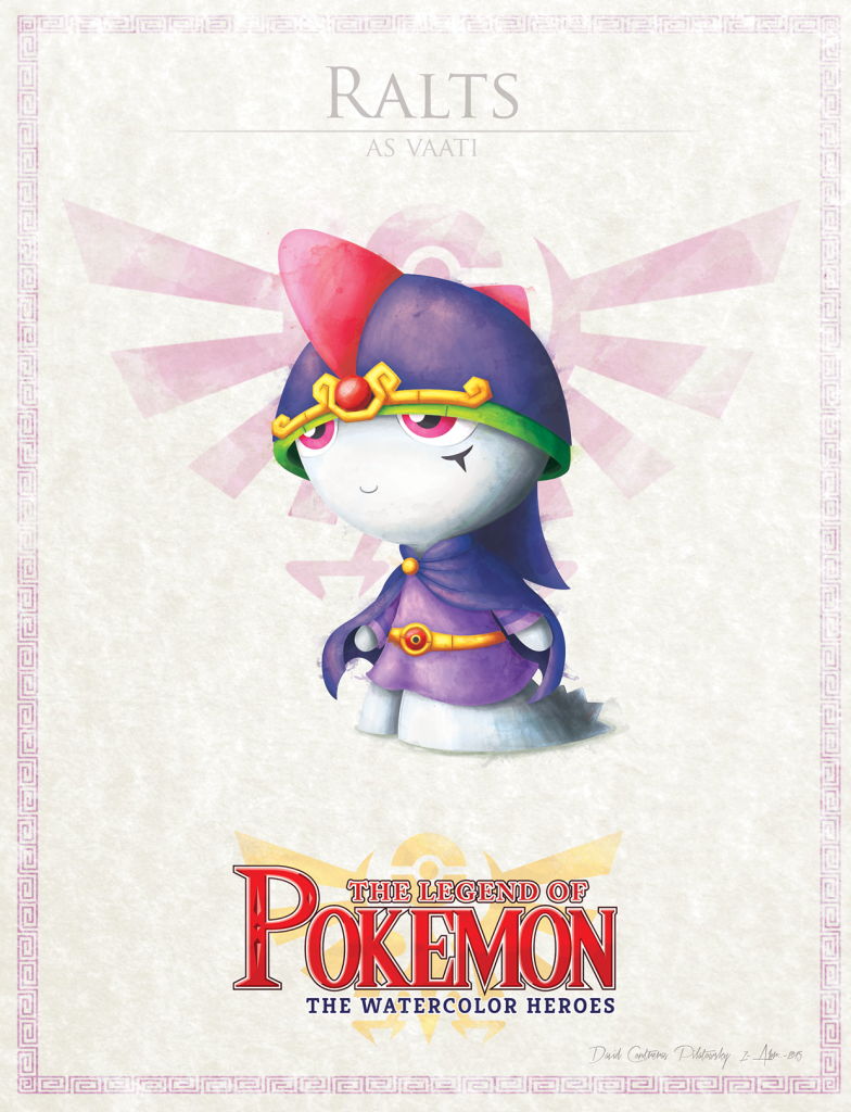 Legend of Pokemon Villains Fille Geek