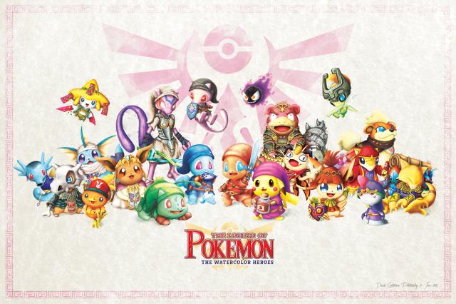 Legend of Pokemon Fille Geek