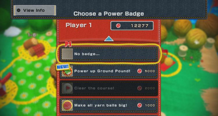 Yoshi Woolly World badge Fille geek