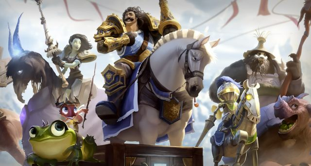 Extension Hearthstone tournoi d'argent Fille Geek