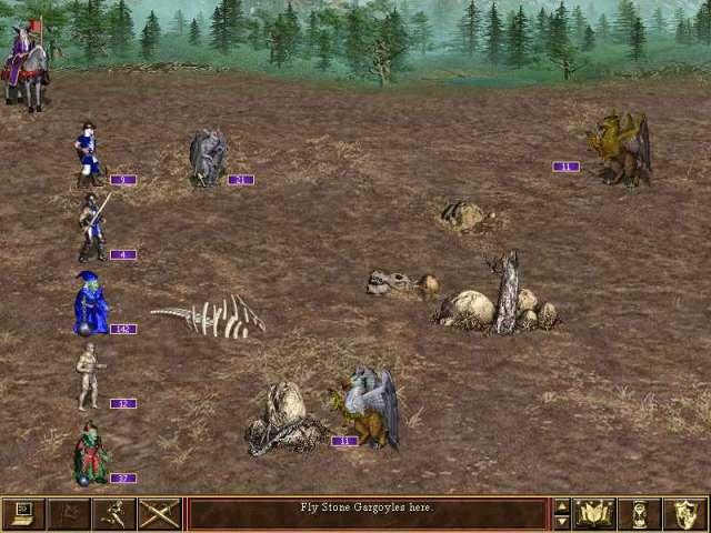 Heroes 3 battle Fille Geek