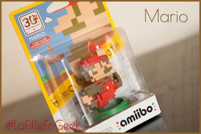 Amiibo Mario 30ème anniversaire