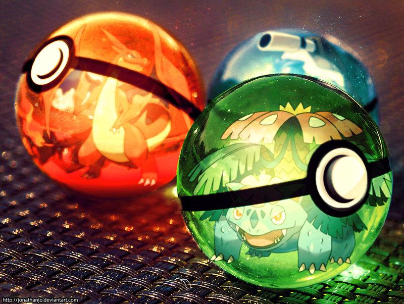 Pokemon starter 1ère génération Fille Geek