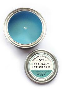 Bougie Gametee Sea-Salt Ice Cream Fille Geek