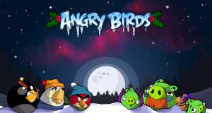 Angry Birds Fille Geek