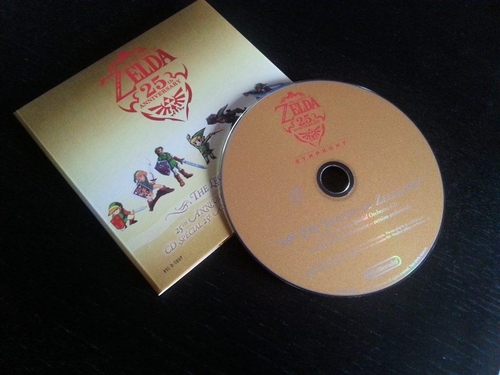 CD Zelda Symphony Fille Geek