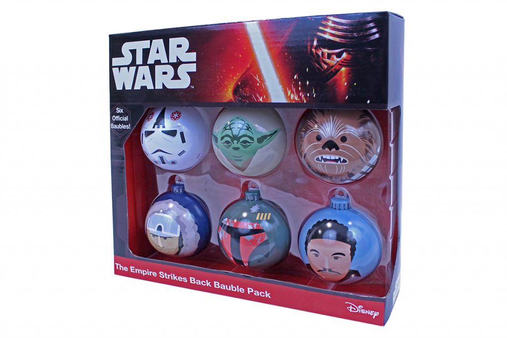 Boules de Noël Star Wars Fille Geek