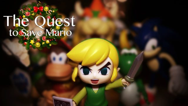 The Quest to Save Mario Fille Geek
