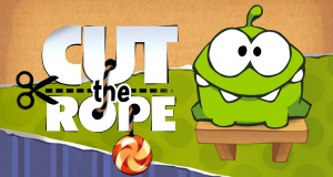 Cut the Rope Fille Geek