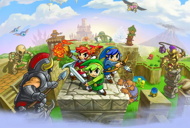 Zelda Triforce Heroes Fille Geek