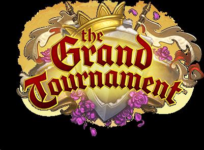 logo Grand Tournoi Hearthstone Fille Geek