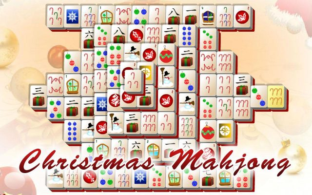 Christmas Mahjong Fille Geek