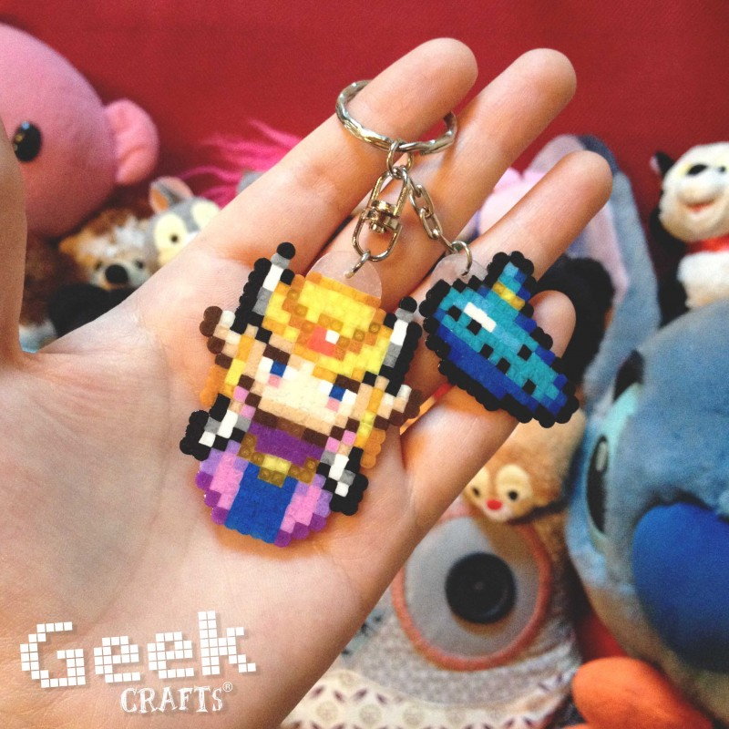 zelda-ocarina Geek-crafts
