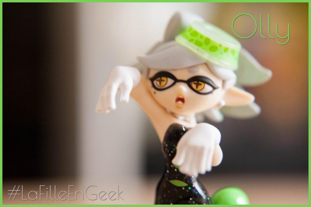 Amiibo Splatoon Oly Fille Geek
