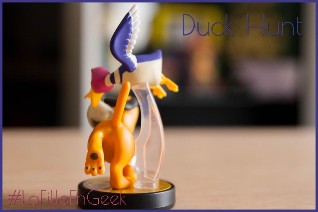 amiibo Duck hunt Fille Geek