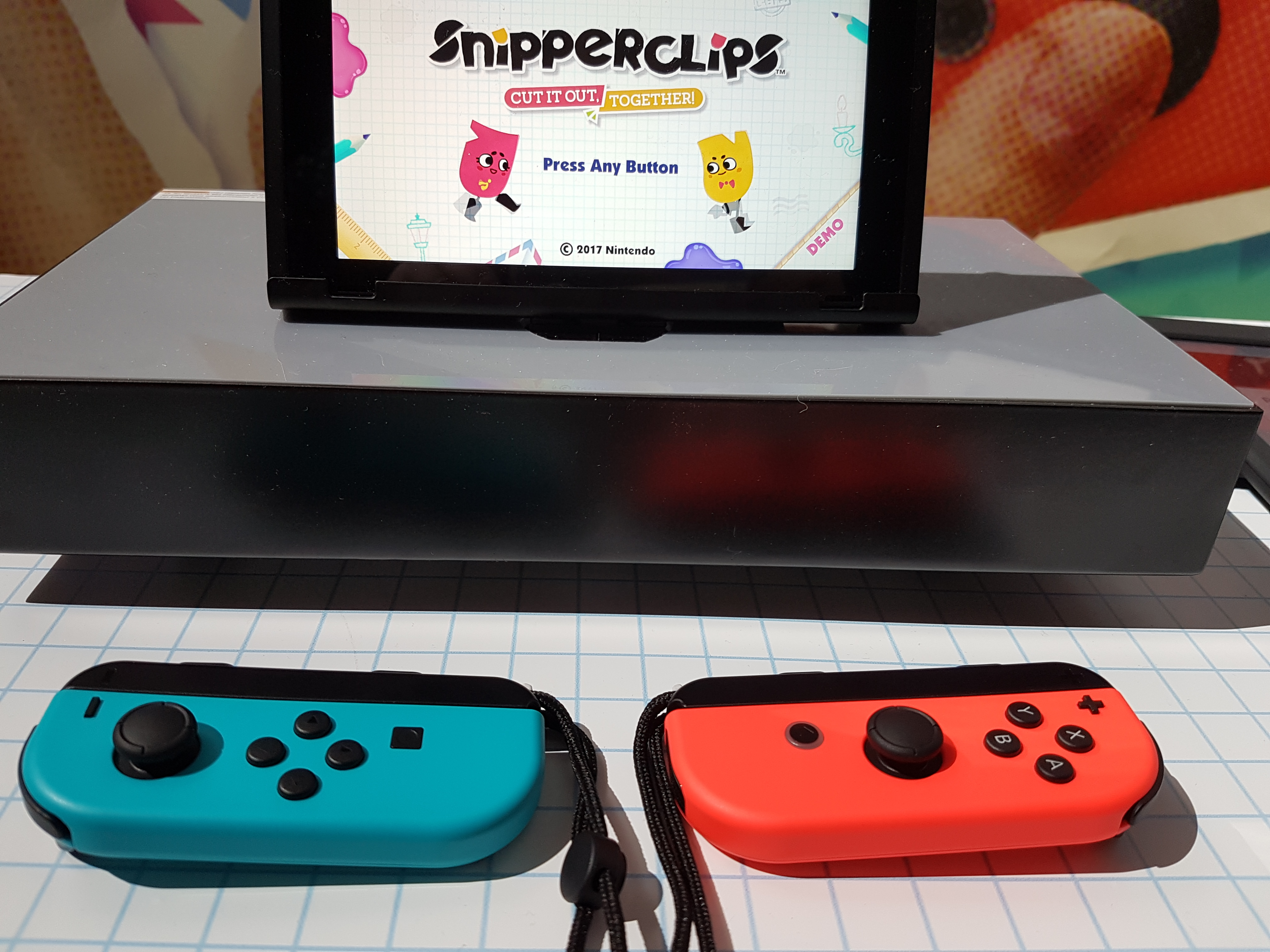 Nintendo Switch Snipperclips Fille Geek