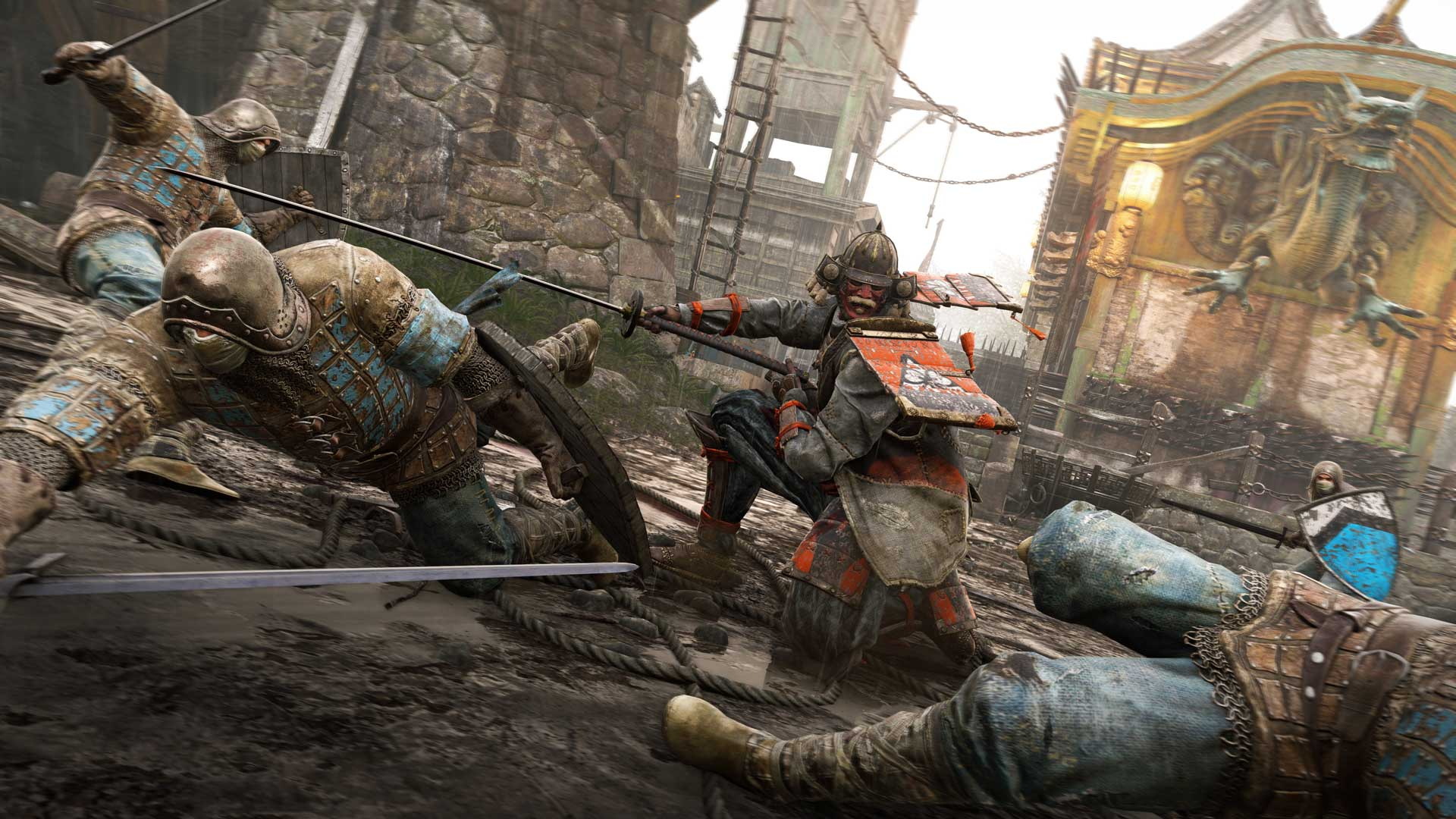 For Honor action Fille Geek