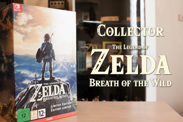 Collector Zelda Breath of the Wild Fille Geek