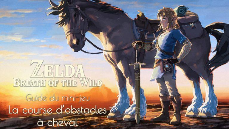 Comment réussir le mini-jeu de la course d'obstacles dans Zelda Breath of the Wild