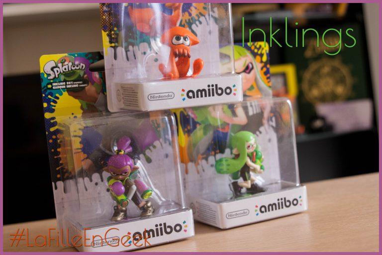 Amiibo Squid, Inkboy et Inkgirl nouvelles couleurs