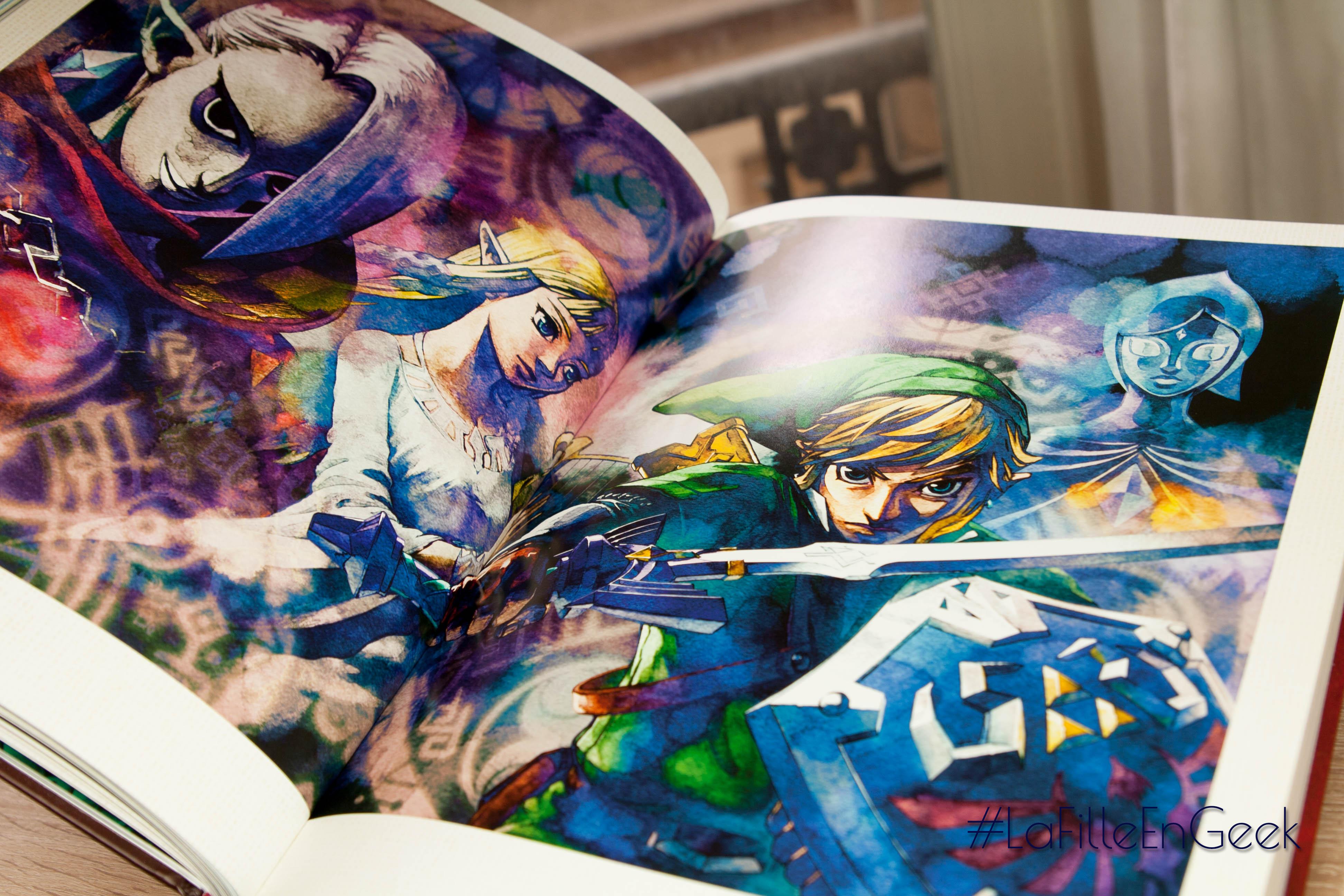 Livre Zelda Arts & Artifacts Fille Geek