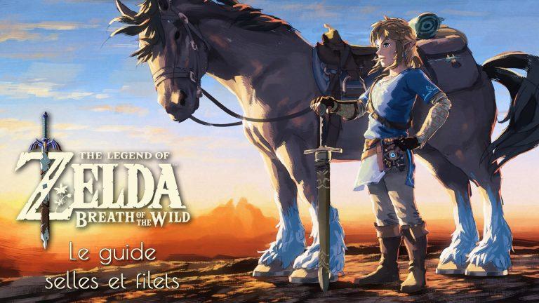 Obtenir tous les filets et selles dans Zelda Breath of the Wild