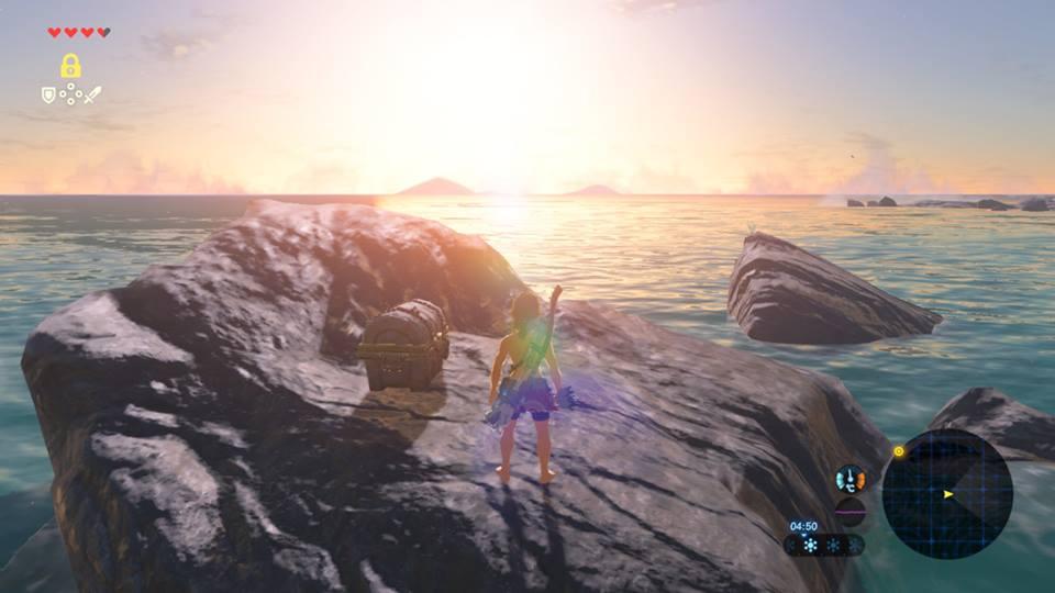 Île Finalis Breath of hte Wild Fille Geek