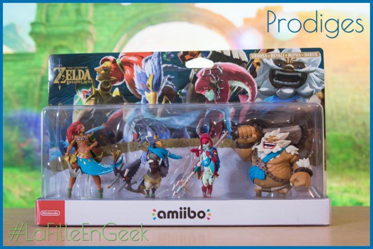 Amiibo Prodiges : Urbosa, Revali, Mipha et Daruk