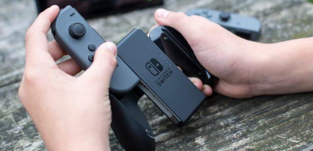 Nintendo Switch Joy-Con joystick abimé Fille Geek