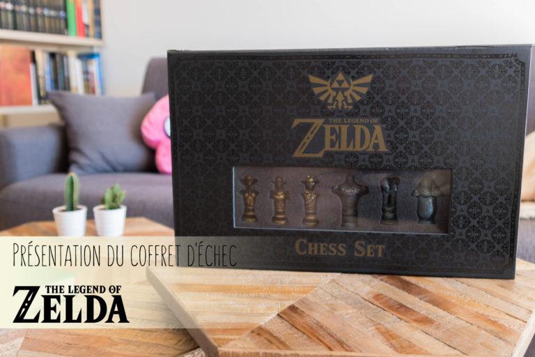 Présentation du Chess Set The Legend of Zelda