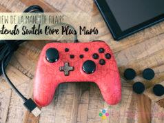 Manette filaire Nintendo Switch Core Plus Fille Geek