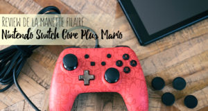 Manette filaire Nintendo Switch Core Plus Fille Geek