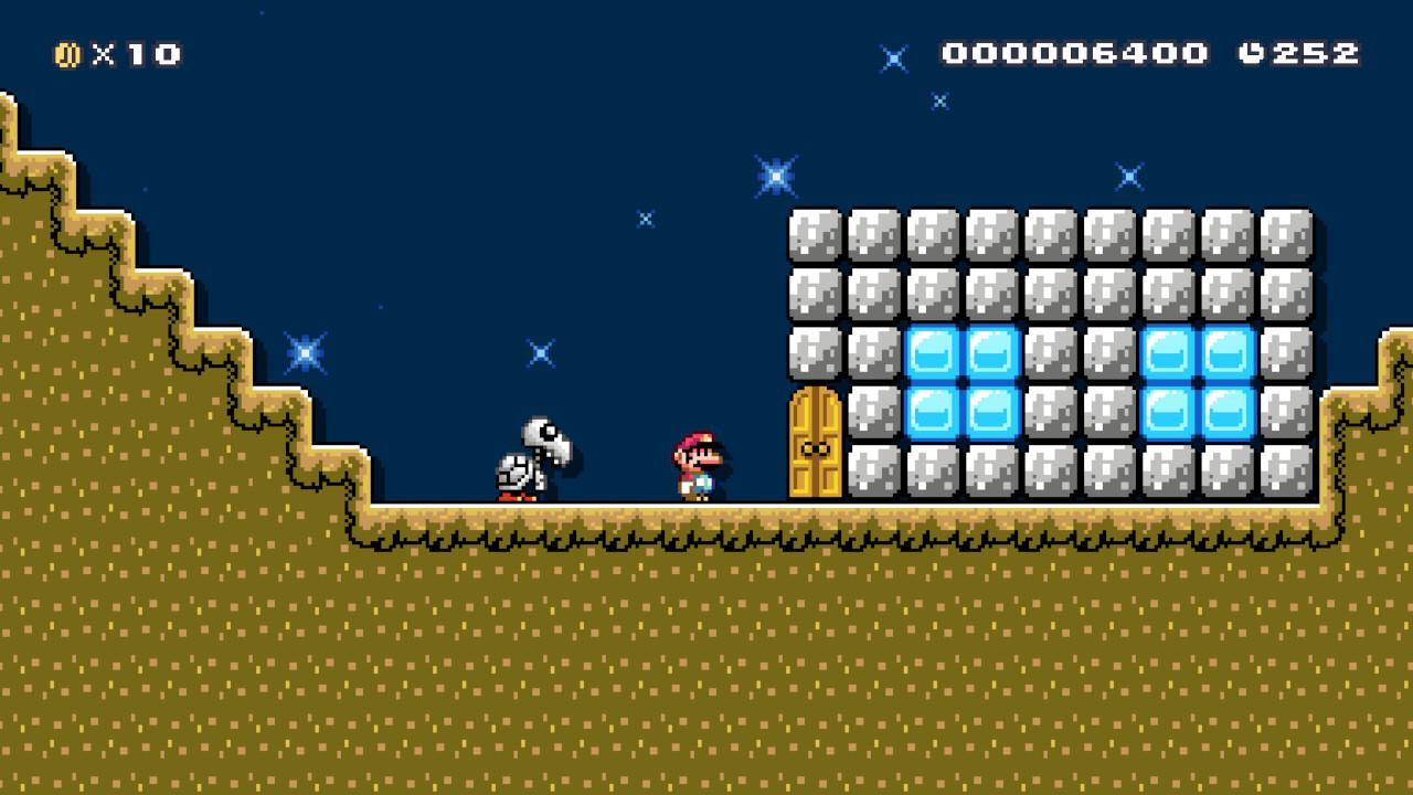 Super_Mario_Maker_2_A_Strange_Upside_Down Fille Geek