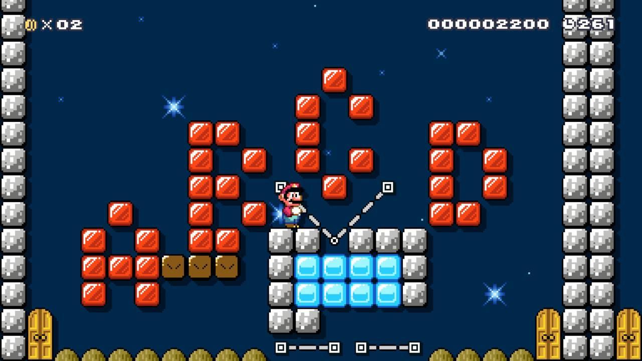 Super_Mario_Maker_2_A_Strange_Upside_Down Fille Geek