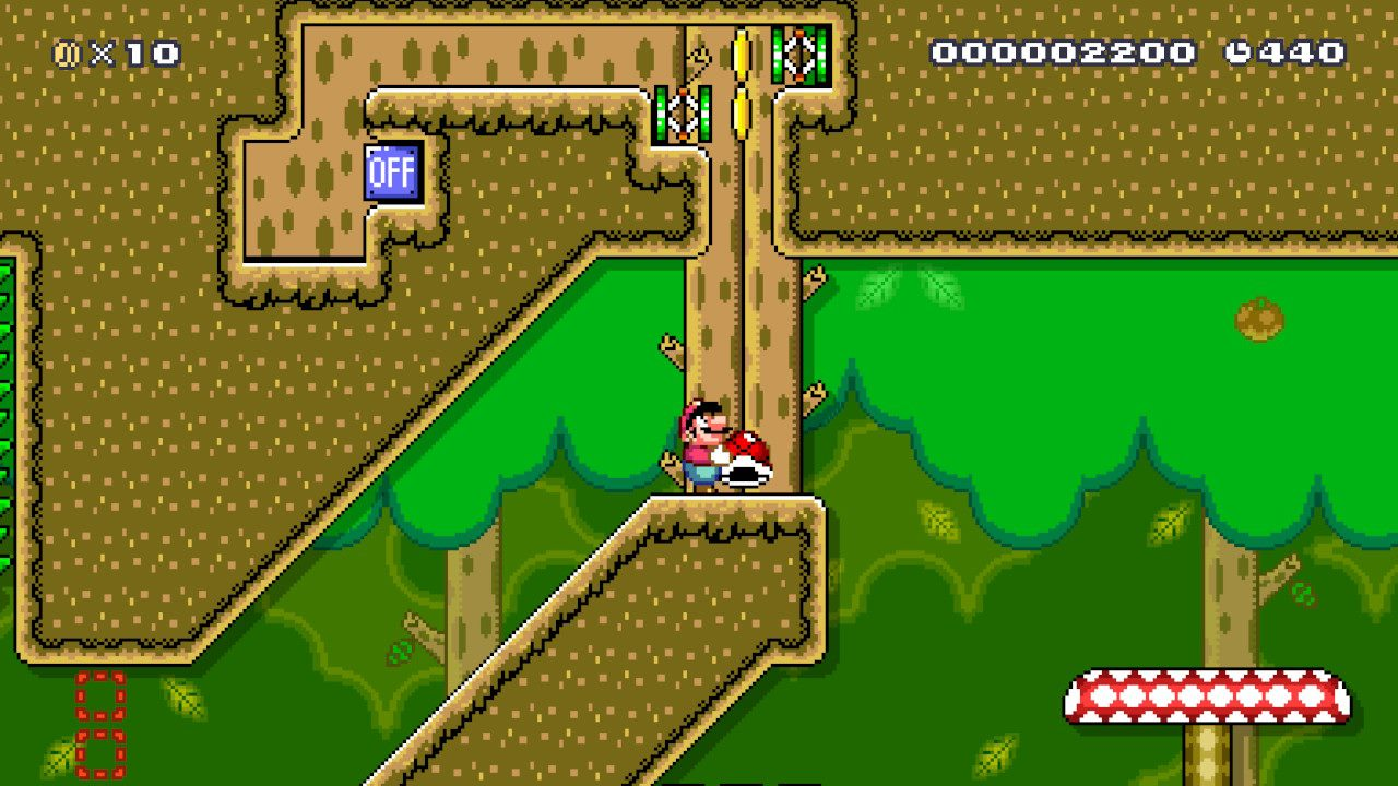Super_Mario_Maker_2_Jungle_Belle Fille Geek