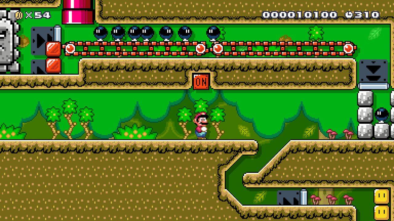 Super_Mario_Maker_2_Jungle_Belle Fille Geek