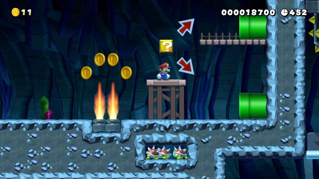 Super_Mario_Maker_2_Konami_Code Fille Geek