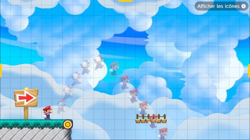 Super_Mario_Maker_2_Trajectoire_du_joueur Fille Geek