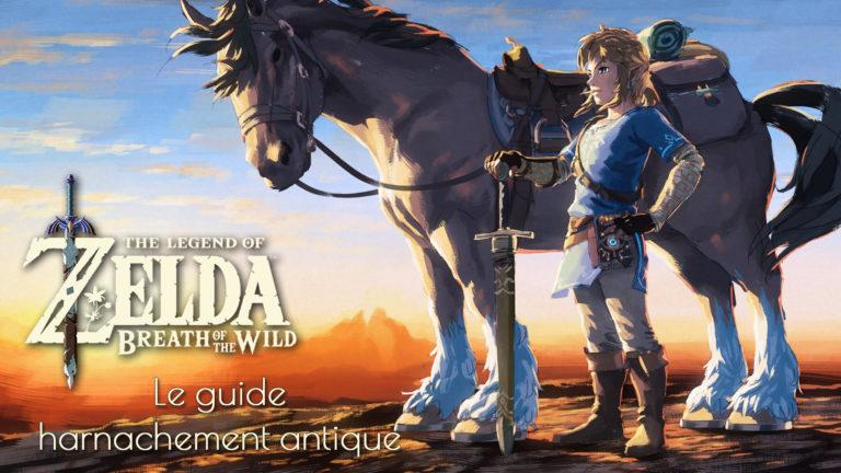 Harnachement Antique Zelda Breath of the Wild