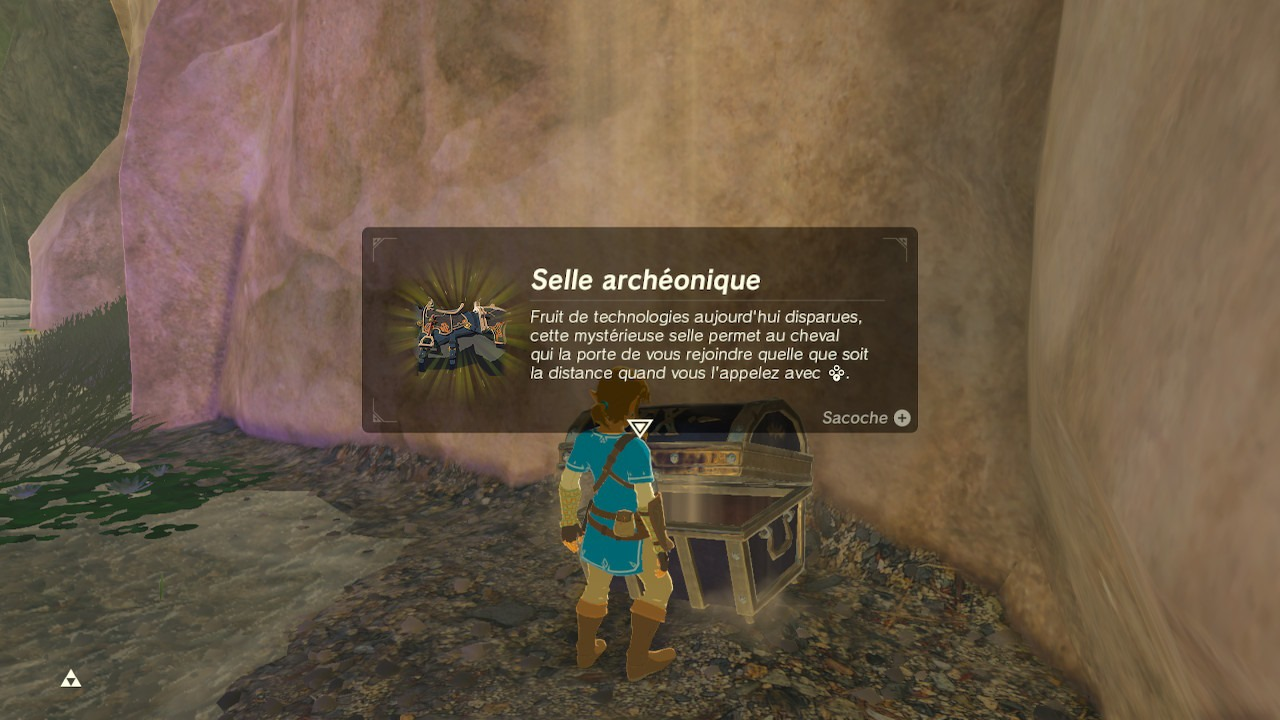 Harnachement antique BOTW Fontaine Fille geek